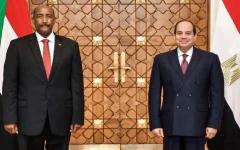 الصورة: السيسي والبرهان يؤكدان التمسك بالتوصل لاتفاق بشأن سد النهضة