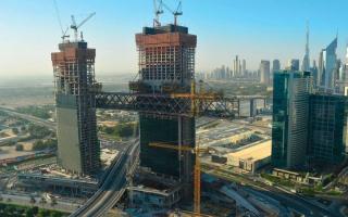 الصورة: «إثراء ديرة»: «ذا لينك» مؤهل لتحطيم الرقم القياسي لأطول برج معلق في العالم