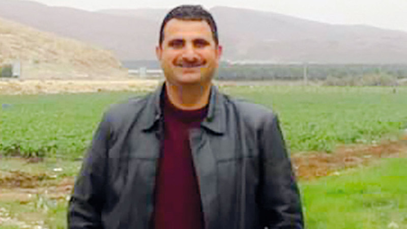 الباحث في مركز أبحاث الأراضي الفلسطينية رائد موقدي.  الإمارات اليوم