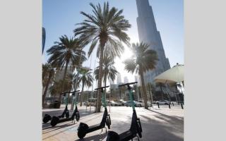 الصورة: 14 التزاماً قانونياً على مستخدمي السكوتر في دبي