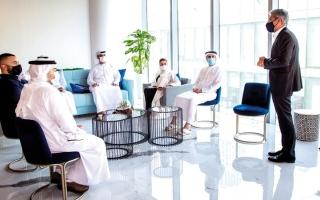 الصورة: اندماج «بيوت ودوبيزل» يدشّن مقره الجديد في حي دبي للتصميم