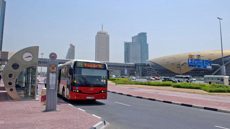 «طرق دبي» نفذت المحطات الجديدة بتصميم مبتكر ومستدام. ■من المصدر
