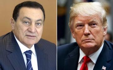 """الصورة: بالفيديو.. ترامب مكان مبارك في أغنية """"اخترناه وبايعناه"""""""