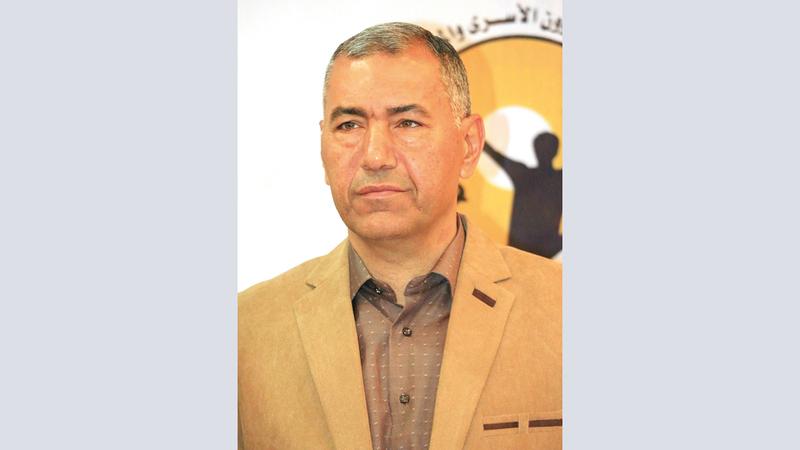 مسؤول وحدة التوثيق في هيئة شؤون الأسرى والمحررين الفلسطينية عبدالناصر فروانة.   أرشيفية