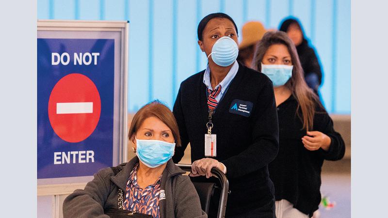 أميركا لم تستطع كبح جماح «الوباء».  أرشيفية