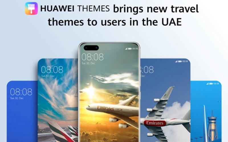 الصورة: تطبيق خاص بـ «طيران الإمارات» على هواتف «هواوي» و«هونر»