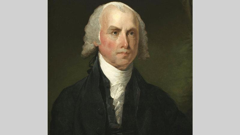 جيمس ماديسون أحد مؤسسي أميركا. غيتي