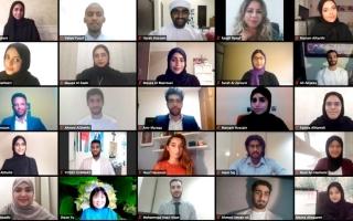 الصورة: اختيار 24 طالباً للانضمام  إلى برنامج «محمد بن زايد  للمنح الدراسية»
