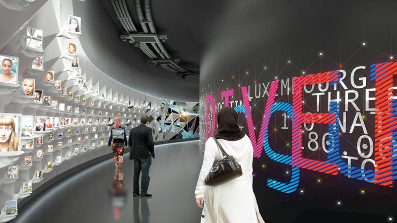 جناح لوكسمبورغ سيكون من المشروعات المعمارية الأكثر طموحاً في «إكسبو 2020 دبي». من المصدر