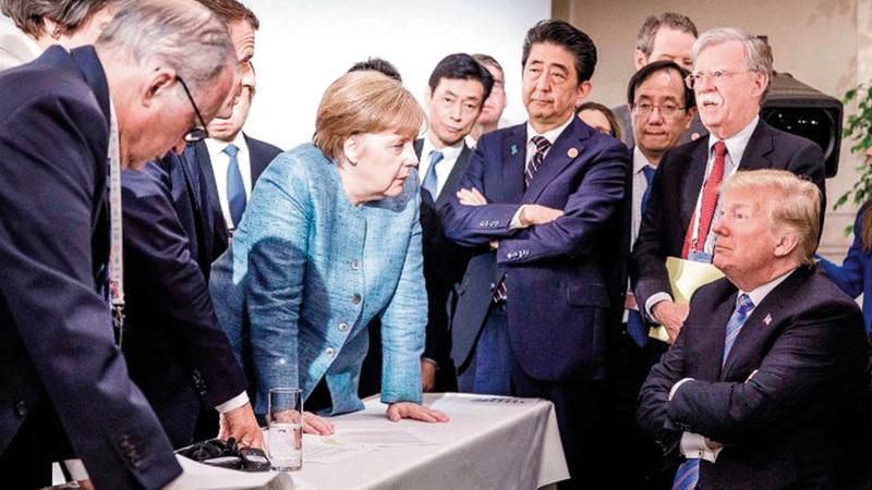 ألمانيا تتطلع إلى لعب دور قيادي أكبر في العالم.  من المصدر