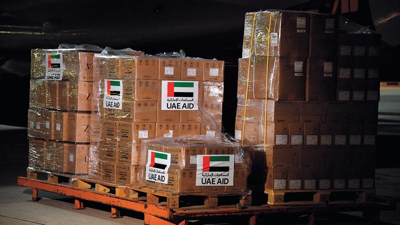 80 % من معدات الوقاية الشخصية انطلقت إلى جميع أنحاء العالم عبر دبي. أرشيفية