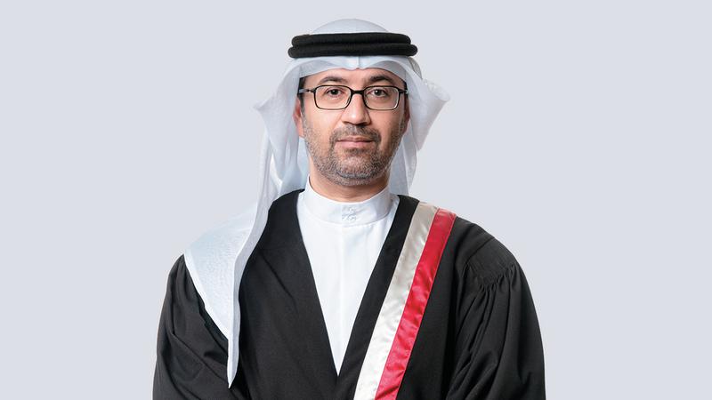 القاضي خالد الحوسني:  الفصل في دعاوى الأحوال  الشخصية تراجع نسبياً في النصف الأول من العام الجاري.