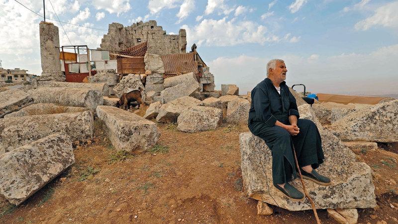 صالح فضل المكان لقربه من الحدود التركية.  أ.ف.ب