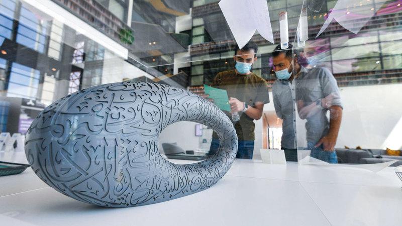 الطباعة ثلاثية الأبعاد سيكون لها دور رئيس في مستقبل العديد من القطاعات كالبناء والطب والطيران. تصوير: أشوك فيرما