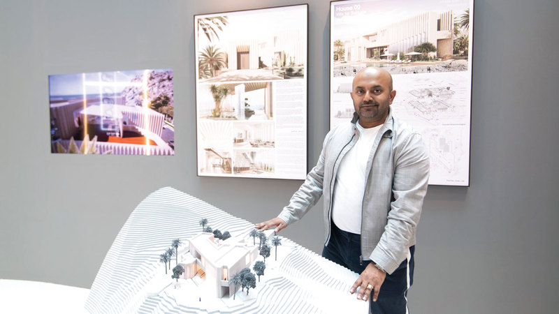 براتيوش ساروب: «التحضير كان بناء على رغبة الجمهور في مناقشة قضايا التصميم وما يحدث حول العالم».