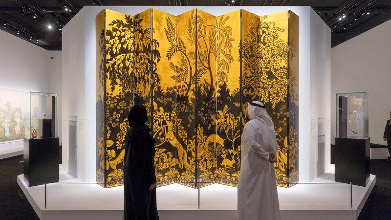 مقتنيات المتحف تواصل الاحتفاء بلقاء الثقافات.   من المصدر