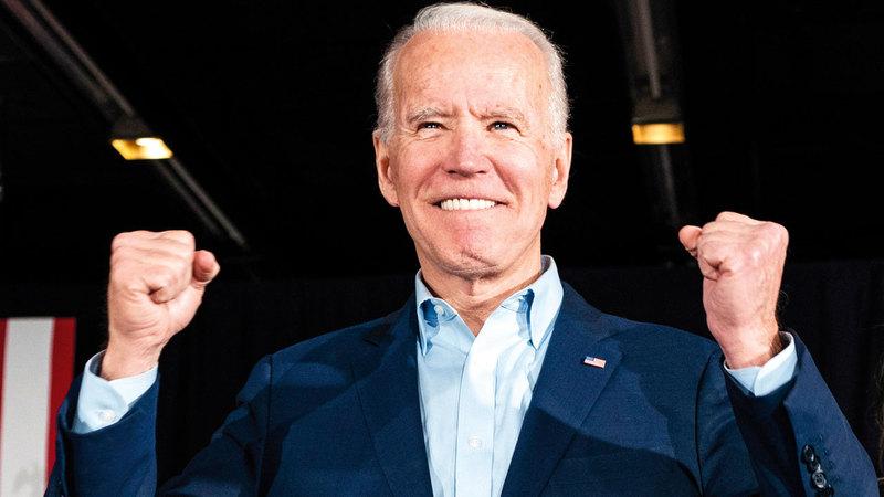 الرئيس المنتخب جو بايدن.  أي.بي. إيه