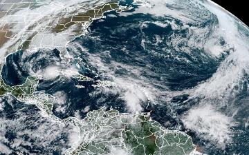 """الصورة: توقعات بتحول العاصفة """"أيوتا"""" إلى إعصار في أميركا الوسطى"""