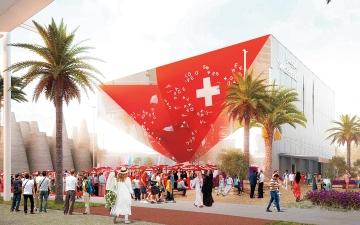 الصورة: سويسرا تنجز جناحها  في «إكسبو 2020 دبي» نهاية العام الجاري