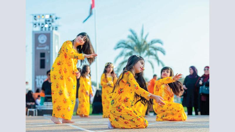 المهرجان يقام في منطقة الوثبة بأبوظبي ويستمر حتى فبراير 2021. أرشيفية