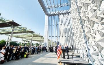 الصورة: انتهاء أعمال التشييد بجناح أميركا في «إكسبو 2020 دبي»