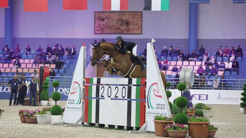 بطولات الفروسية في الإمارات تعود إلى الحياة مطلع العام المقبل.  من المصدر