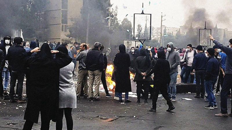 لم تتم محاسبة المسؤولين عن انتهاكات تظاهرات إيران حتى الآن.  أرشيفية