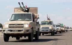 الصورة: عملية نوعية لمقاتلات التحالف في صعدة.. وإفشال هجوم حوثي بالجوف
