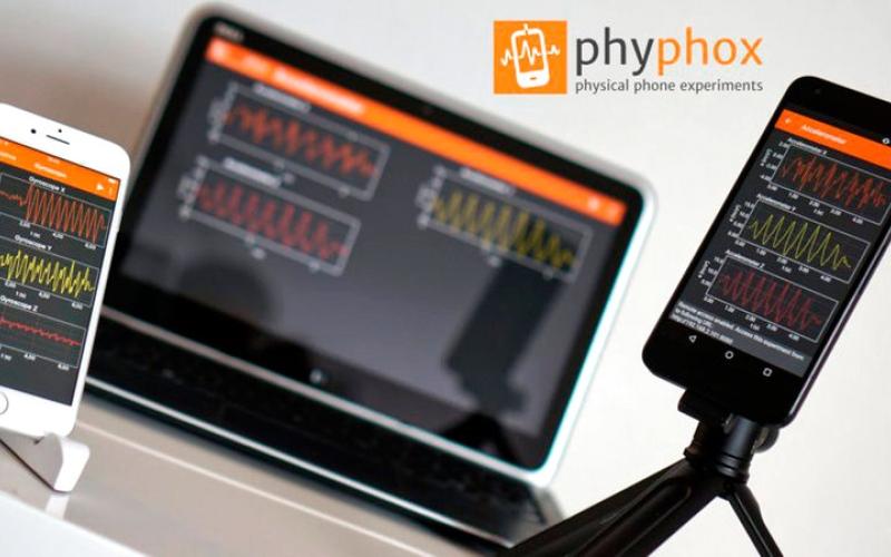 الصورة: تطبيق لإجراء التجارب الفيزيائية بمستشعرات الهاتف الذكي