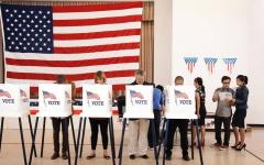الصورة: لماذا وقف بعض الناخبين المسلمين إلى جانب ترامب