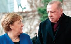 الصورة: أردوغان على طريق توتر في علاقات بلاده مع ألمانيا والاتحاد الأوروبي