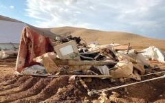 الصورة: موجة هدم وتهجير تقض مضاجع الفلسطينيين