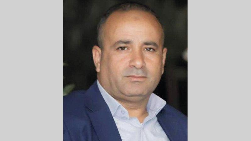 مسؤول ملف الأغوار في محافظة طوباس معتز بشارات.   الإمارات اليوم