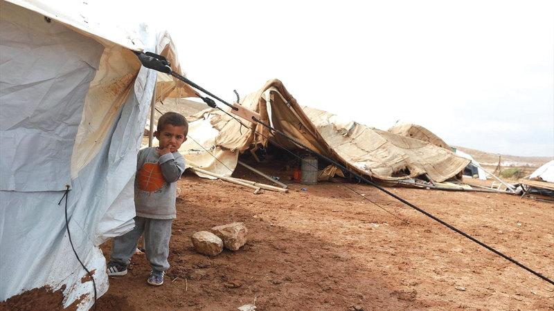 41 طفلاً في خربة حمصة شُردوا بفعل هدم منازلهم.