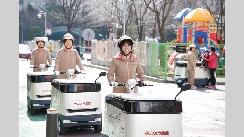 يوجد نحو 11 ألف بائعة زبادي في كوريا الجنوبية. أرشيفية
