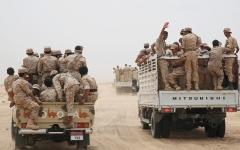 الصورة: مصرع وإصابة 247 حوثياً.. بينهم 9 من القيادات البارزة