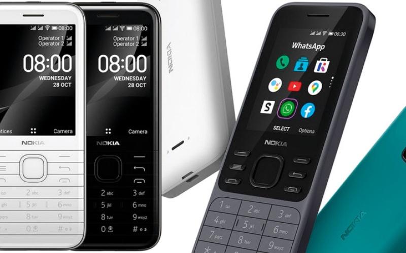 الصورة: «نوكيا» تطلق هاتفين جديدين من الفئة الأساسية
