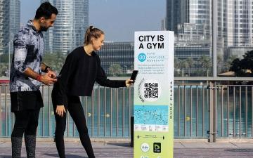 الصورة: 10 مواقع على منصّة «تحدي دبي للياقة»