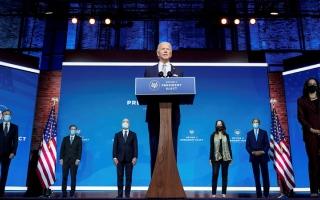 الصورة: بايدن يعلن عودة الولايات المتحدة «المستعدة  لقيادة العالم»