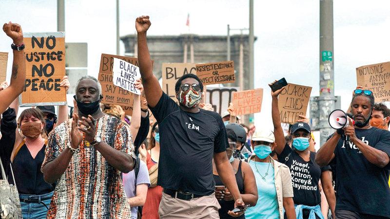 معظم التظاهرات لم تخرج عن إطار السلمية. أرشيفية