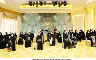 الصورة: «دانات دبي».. عُرس جماعي لـ 150 عروساً من موظفات حكومة دبي