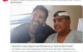 الصورة: الكشف عن بيانات تشريح جثة مارادونا.. وآخر صورة قبل وفاته!