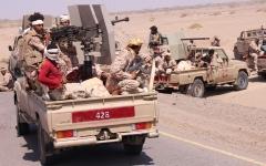 الصورة: الجيش اليمني يحرّر منطقة الجفرة في محافظة مأرب