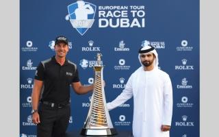 الصورة: منصور بن محمد: دبي من أفضل الوجهات الرياضية في العالم لعشاق الغولف