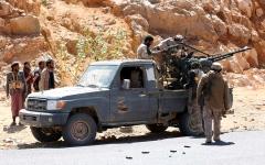 الصورة: التحالف يشل قدرات الميليشيات الحوثية في 5 محافظات