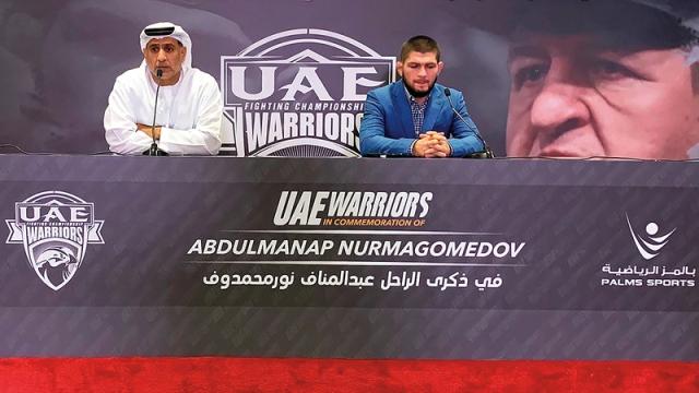 صورة «محاربي الإمارات» تنظم بطولة جديدة باسم والد البطل العالمي محمدوف – رياضة – محلية