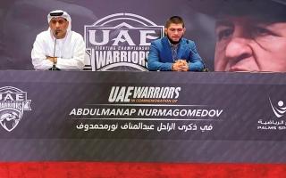 الصورة: «محاربي الإمارات» تنظم بطولة جديدة باسم والد البطل العالمي محمدوف