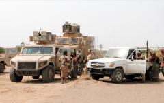 الصورة: «التحالف» يدمر مخازن أسلحة حوثية ومنصات إطلاق صواريخ في عمران وصعدة