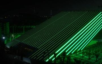 الصورة: اكتمال أعمال بناء الجناح السعودي في «إكسبو 2020 دبي»