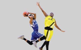 الصورة: النصر يهزم الوصل «107-101» في دوري السلة